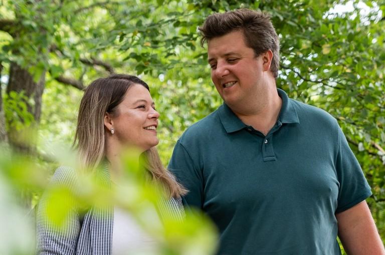Antonia Fiebrich und David Walch